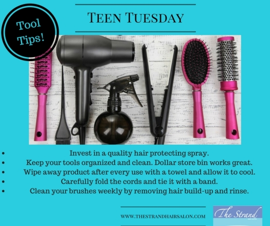 teen styling tool tips