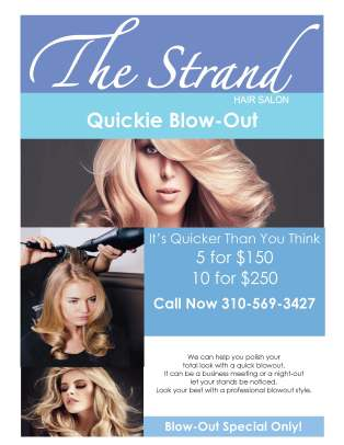 quickie blowout special 2017